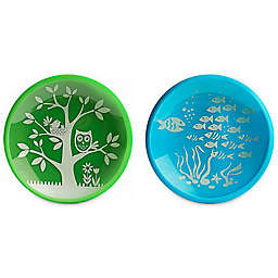 Brinware School of Fish Dishes in Blue/Green (Set of 2)
