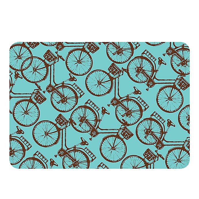 Alternate image 1 for Weather Guard™ 22-Inch x 31-Inch Bike Away Kitchen Mat