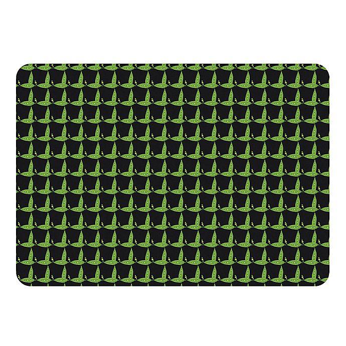 Alternate image 1 for Premium Comfort by Weather Guard™ 22-Inch x 31-Inch Garden Peas Kitchen Mat