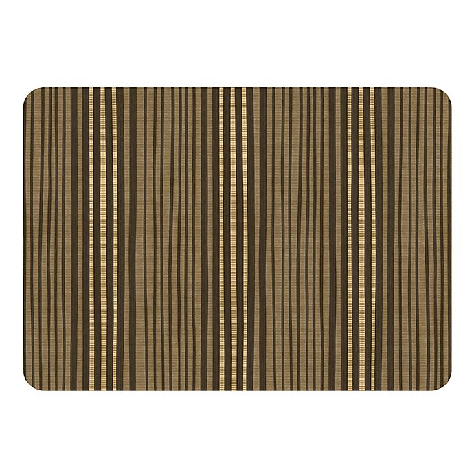 Alternate image 1 for Weather Guard™ 22-Inch x31-Inch Painted Stripe Mat