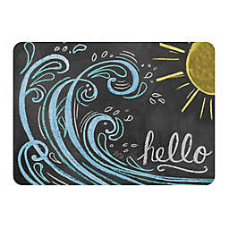 WeatherGuard™ Premium Comfort 22-Inch by 31-Inch Wave Hello Color Mat