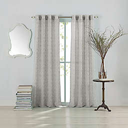 Anthology™ Lucca Grommet Top Window Curtain Panel in Blue