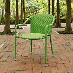 Crosley Palm Harbor Wicker Stacking Chairs (Set of 4)