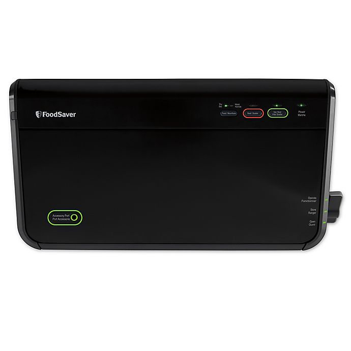 Alternate image 1 for FoodSaver FM2100 Vacuum Sealing System in Black