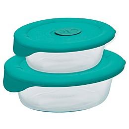 Pyrex® Pro Oval Dish with Bondi Plastic Lid