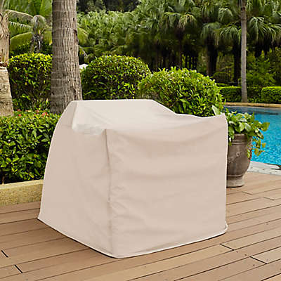 Crosley Outdoor Chair Furniture Cover in Brown