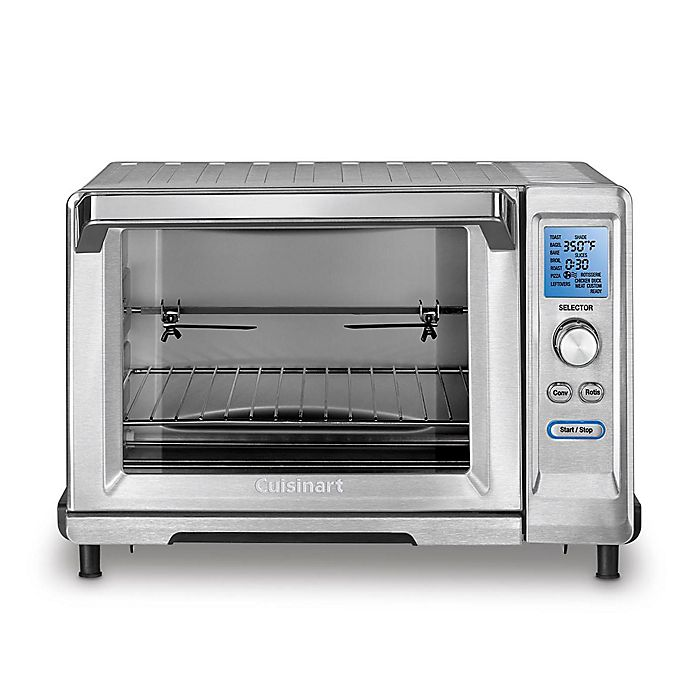 5a93fb7cc0e Cuisinart® Stainless Steel 6-Slice Rotisserie Convection Toaster Oven  Broiler