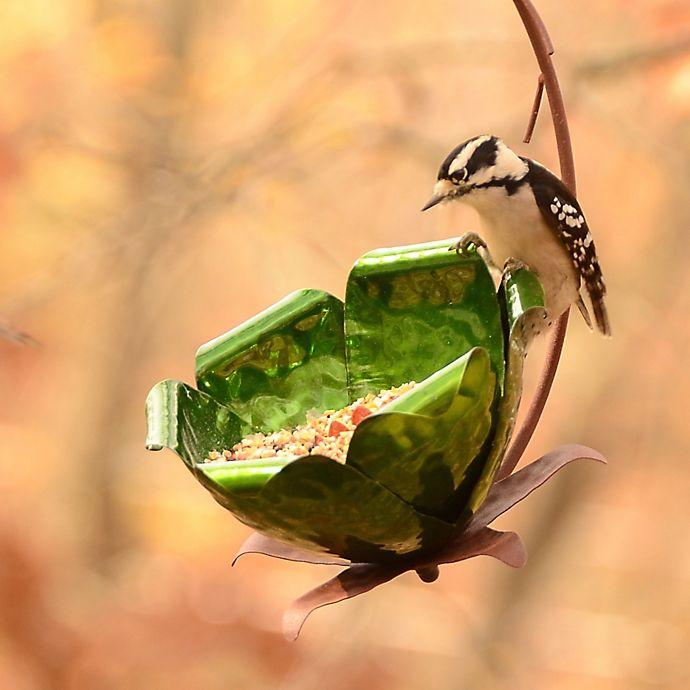 Alternate image 1 for Desert Steel Tulip Tree Bird Feeder