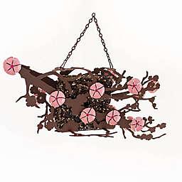 Desert Steel Cherry Blossom Suet Bird Feeder