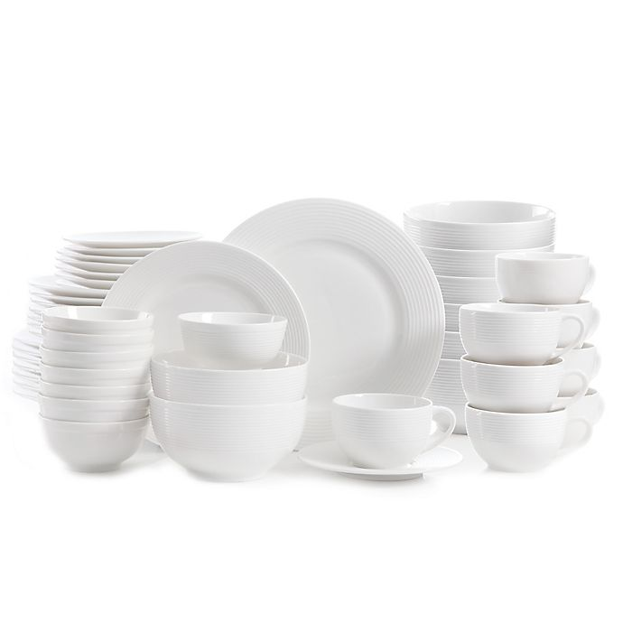 Alternate image 1 for Gibson Home Regent Street 48-Piece Dinnerware Set