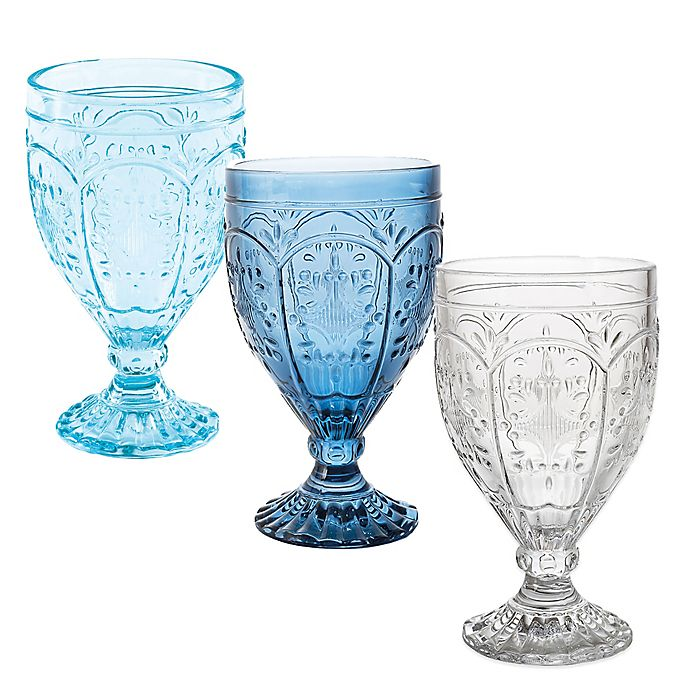 Alternate image 1 for Fitz and Floyd® Trestle Goblets (Set of 4)