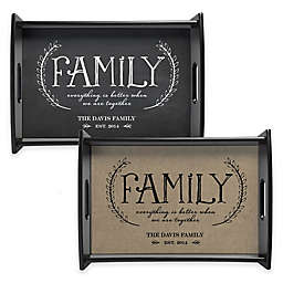Family Handled Serving Tray