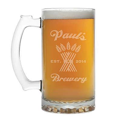 """""""Brewery"""" Grains Beer Mug"""
