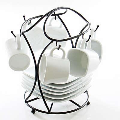B. Smith® 13-Piece Espresso Set with Stand