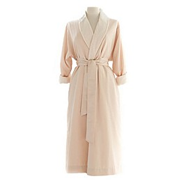 Telegraph Hill Twill Double-Layer Microfiber Robe