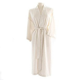 Telegraph Hill Seersucker Single-Layer Microfiber Kimono Robe