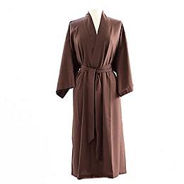 Telegraph Hill Seersucker Single-Layer Microfiber Kimono Robe