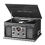 Victrola™ Classic 6-in-1 Turntable with Bluetooth® Speakers in Graphite
