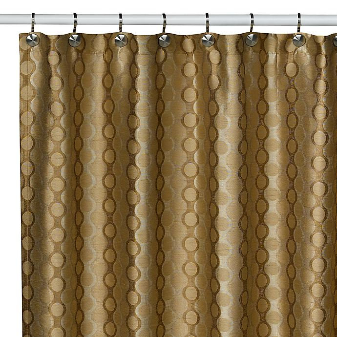 Saybrook Bronze Shower Curtain
