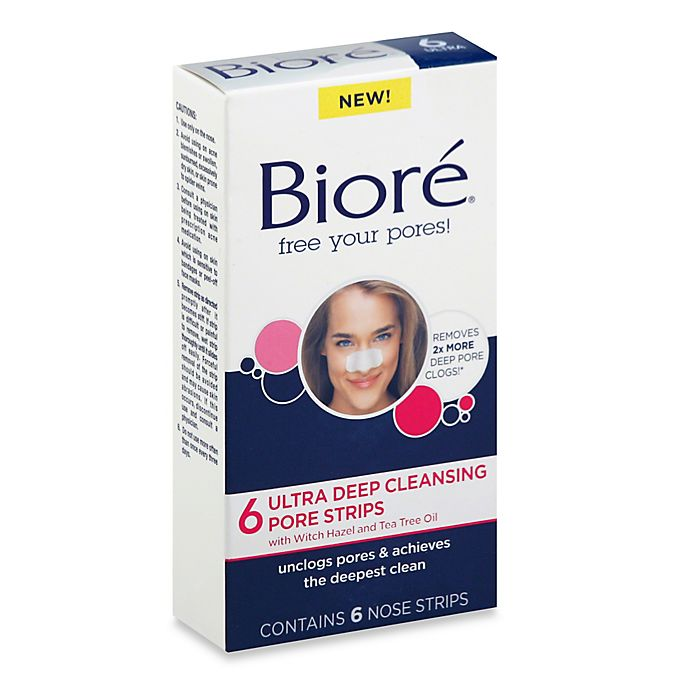 Alternate image 1 for Biore® 6-Count Ultra Deep Cleansing Pore Strips