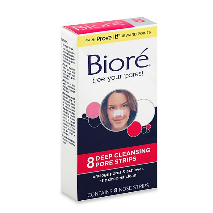 Alternate image 1 for Biore® 8-Count Deep Cleansing Pore Strips