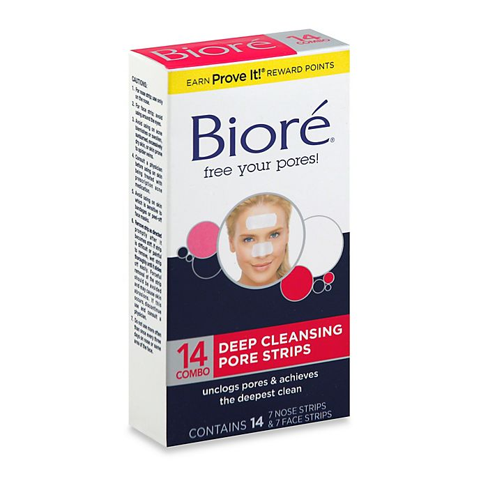 Alternate image 1 for Biore® 14-Count Deep Cleansing Pore Strips
