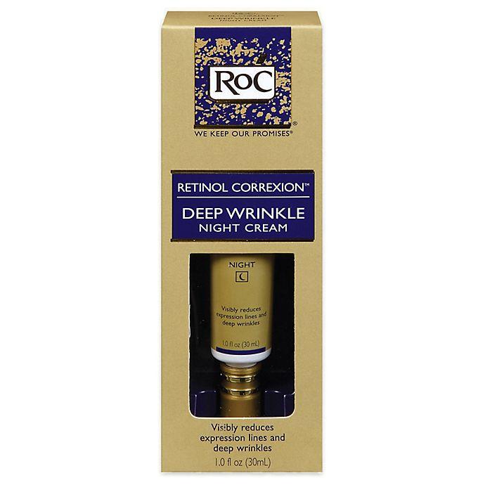 Alternate image 1 for RoC® Retinol Correxion® 1.oz. Deep Wrinkle Night Cream
