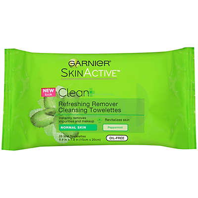 Garnier® 25-Count Clean + Refreshing Remover Cleansing Towelettes Normal Skin