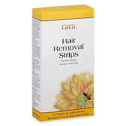 GiGi 12-Count Hair Removal Strips with Honee Formula