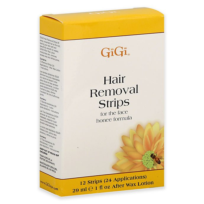 Alternate image 1 for Gigi® 24-Count Hair Removal Strips for the Face
