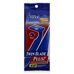 Harmon® Face Values™ 12-Pack Mens Twin Disposable Razors