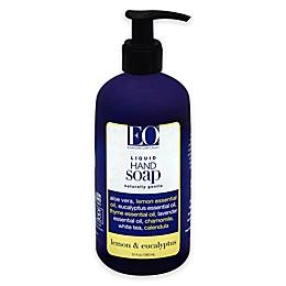 EO® 12 oz. Lemon and Eucalyptus Botanical Liquid Hand Soap