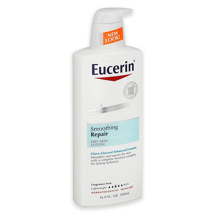 Alternate image 1 for Eucerin® 16.9 oz. Smoothing Essentials Fast-Absorbing Lotion