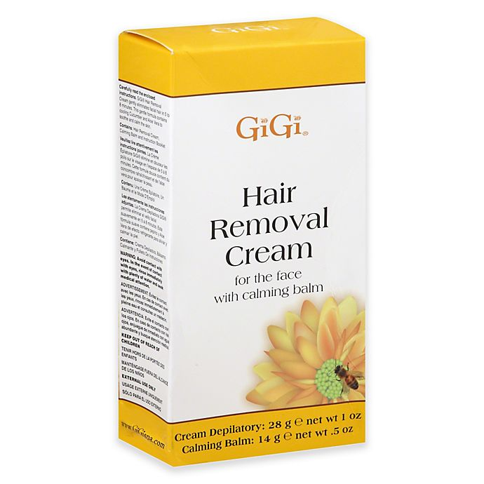 Gigi® Hair Removal Cream For The Face With Calming Balm