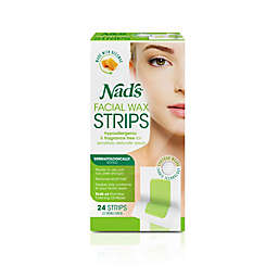 Nad's® 24-Count Hair Removal Facial Wax Strips