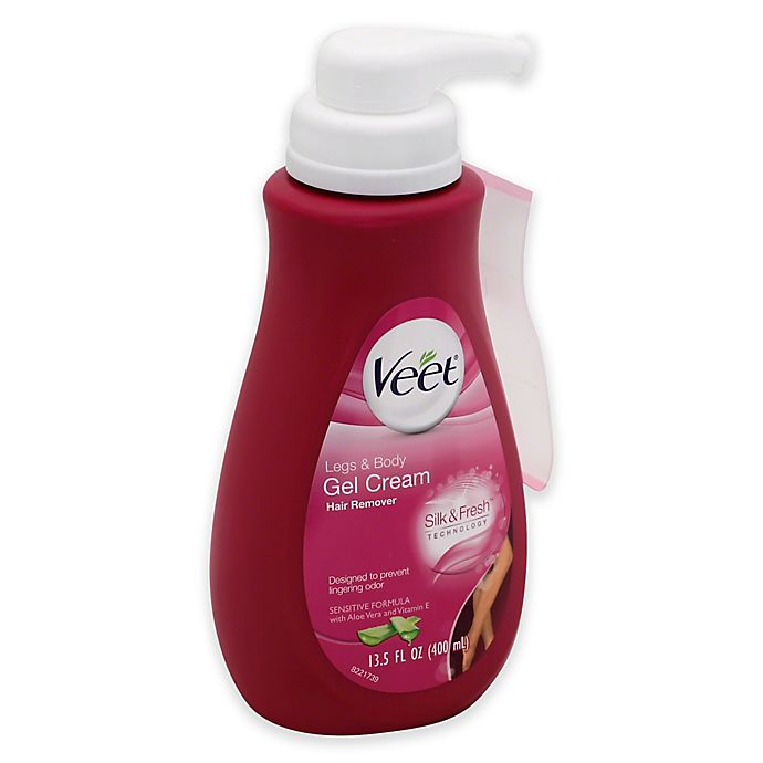 Veet 13 5 Oz Gel Cream Sensitive Formula Hair Removal With Pump