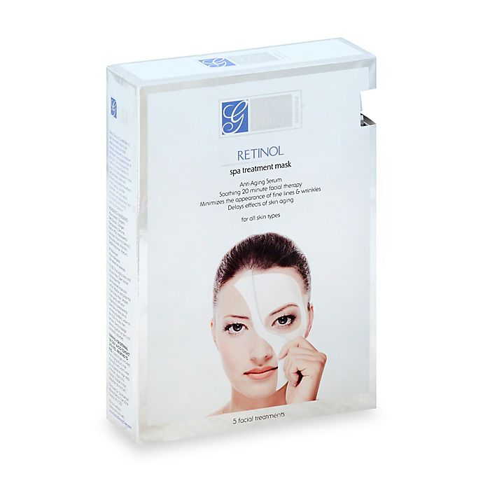 Alternate image 1 for Global Beauty Care®  5-Count Retinol Spa Treatment Mask