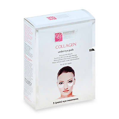Global Beauty Care™ 5-Count Premium Collagen Under-Eye Pads