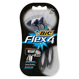 BIC® Flex 4® 3-Pack Disposable Razor