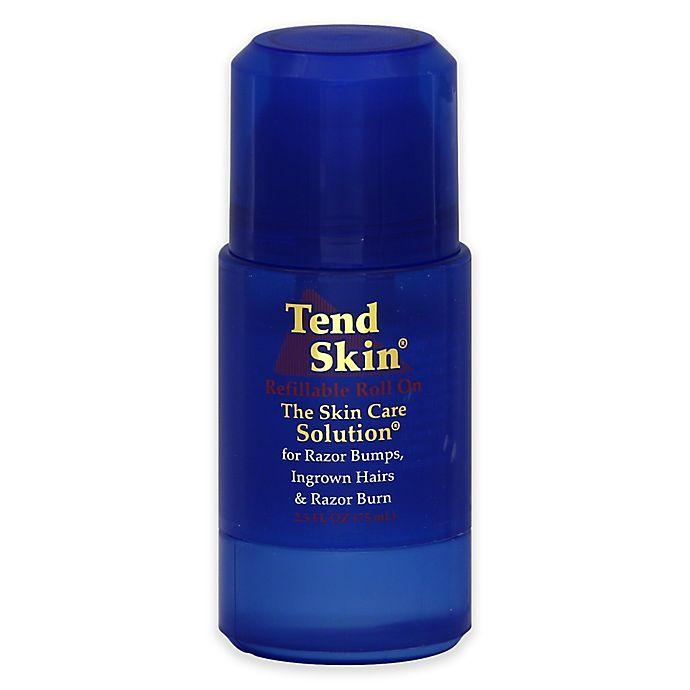 Alternate image 1 for Tend Skin® Skin Care Solution® 2.5 oz. Refillable Roll On for Razor Burn and Ingrown Hair