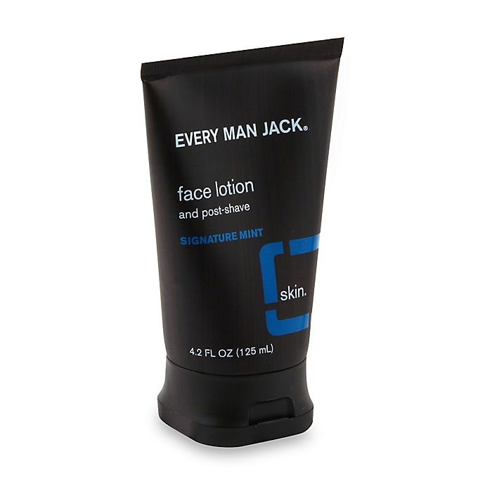 Alternate image 1 for Every Man Jack® 4.2 oz. Post Shave Face Lotion in Signature Mint