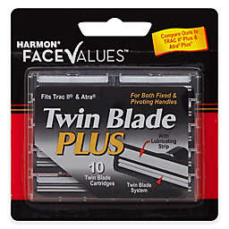 Harmon® Face Values™ 10-Count Men's Twin Blade Cartridges