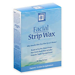 Clean+ Easy 12-Count Facial Strip Wax