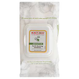 Burt's Bees® 30-Count Sensitive Facial Cleansing Towelettes
