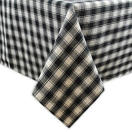 French Check Table Linens