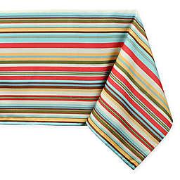 Stripe Tablecloth with Umbrella Hole