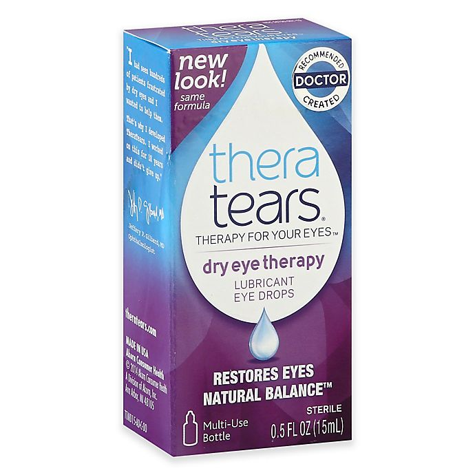 Alternate image 1 for Thera Tears 0.50 oz. Lubricanting Eye Drops