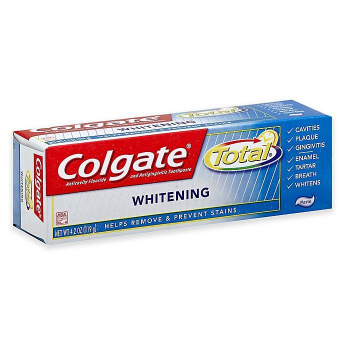 Alternate image 1 for Colgate Total® 6 oz. Whitening Gel Toothpaste