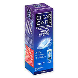 Aosept 12 oz.Clear Care No Rub Contact Solution
