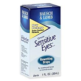 Bausch + Lomb Sensitive Eyes 1 oz. Rewetting Drops